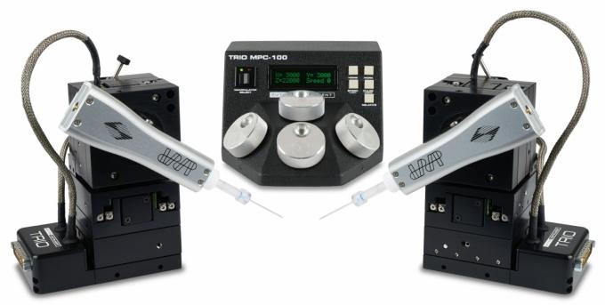 TRIO MPC-145 système multi-manipulation - aluminium ou acier inoxydable
