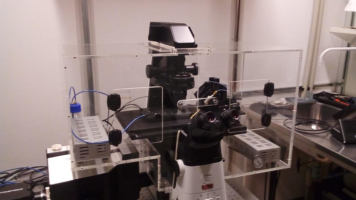 Système d'incubation pour microscope NIKON -2
