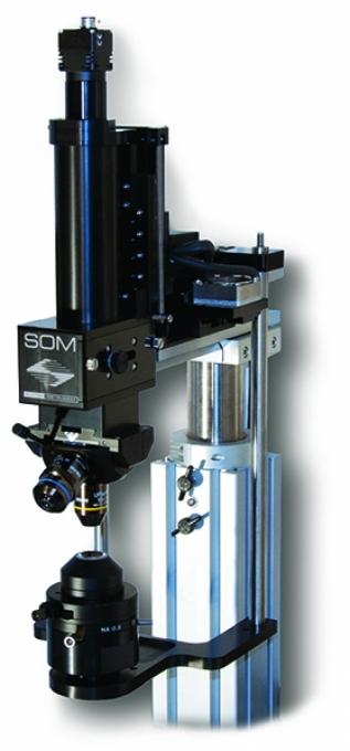 SOM Microscope à mouvement simple