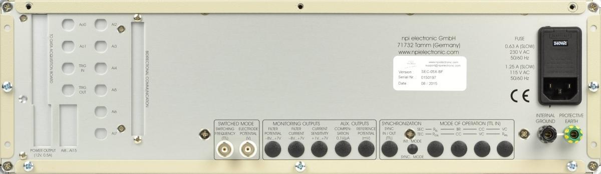 Amplificateurs de la série SEC -3