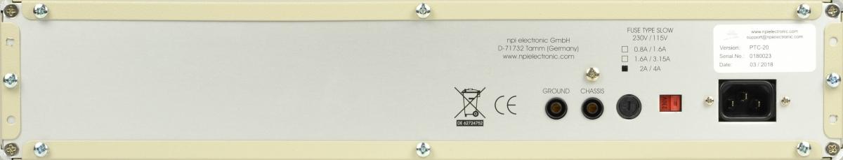 PTC-20 Régulateur de température à 2 canaux (chauffage et refroidissement) -2
