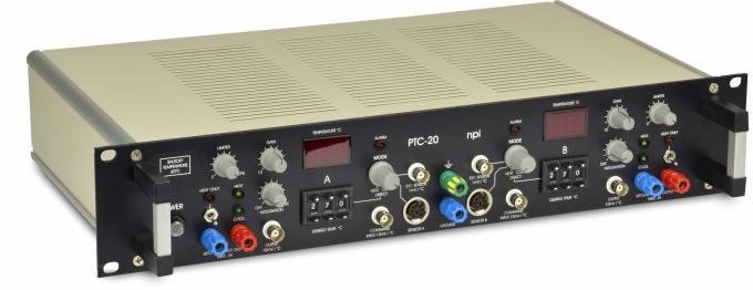 PTC-20 Régulateur de température à 2 canaux (chauffage et refroidissement)