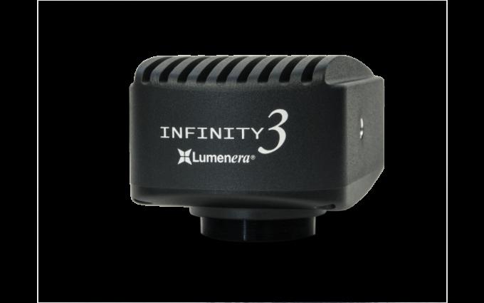 Caméra INFINITY3-1URF : 1.4 MPixels couleur ou monochrome non refroidie
